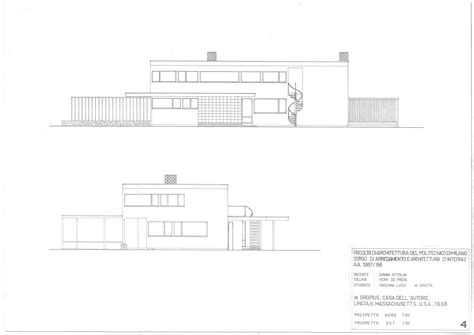 gropius house plans gropius house plans house design plans