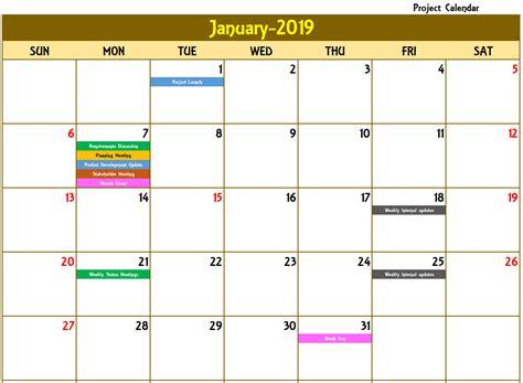 monthly calendar  recurring   excel calendar ideas design creative