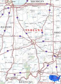 Indiana State Map by Indiana Maps