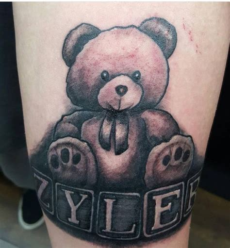 teddy bear tattoos designs best 25 teddy tattoos ideas on teddy