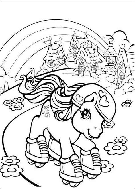 Petit Poney #158 (Dessins Animés) – Coloriages à imprimer