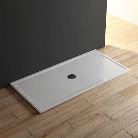 piatto doccia 140 piatto doccia 80x140 a filo pavimento in resina sottile