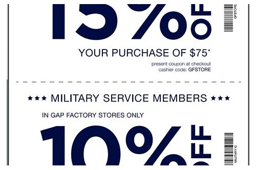 gap in store coupon february 2018