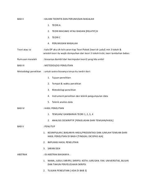 tuliskan format penulisan skripsi format penulisan skripsi