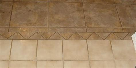 How to connect the existing tile flooring with a new one?