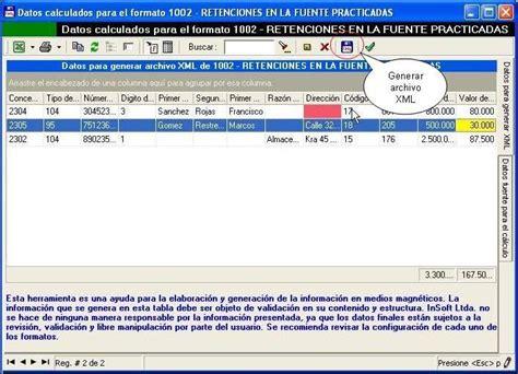 plazos de medios magneticos 2016 el sistema generar 225 la tabla de informaci 243 n para presentar
