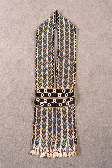 ojibwa bead loom ojibwa loom beaded bandolier bag 41 quot