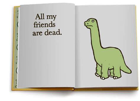 friends  dead book finds humor  mortality paste