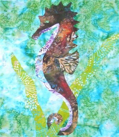 seahorse applique pattern appliq patterns