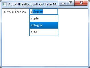 javafx auto layout updated autofill textbox with filtermode in javafx 2 0
