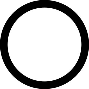 Circle Black Outline by Black Circle Clip At Clker Vector Clip Royalty Free Domain