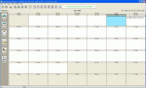 Free Calendar Software Free Software Calendar Desktop Free Program