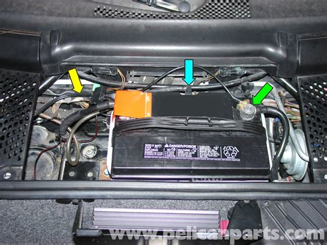 Porsche Batterie by Porsche 911 Carrera Battery Replacement And Trickle