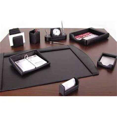 Executive Desk Organizers Accessories Furnishings Desk Accessories Leather Faux Leather Desktop Organizers