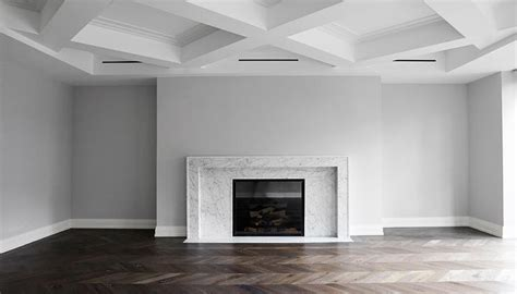 Modern Coffered Ceiling Living Room With Modern Coffered Ceiling Modern Living