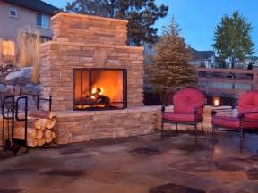 how to build an outdoor fireplace plans how to plan for building an outdoor fireplace hgtv