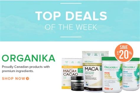 Deal Of The Week 15 At Natur by Well Ca Canada Top Deals Of The Week Save 30 On Tints Of