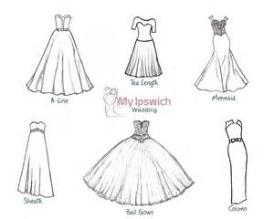 different shapes of wedding dresses wedding dress shapes and styles 187 my ipswich wedding