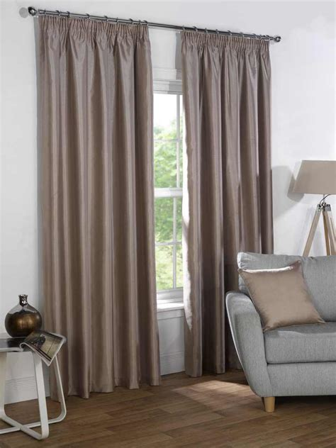 sophia curtains sophia faux silk blackout curtains free uk delivery