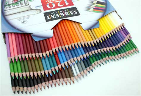 how to color with colored pencils sargent 22 7252 120 count best buy