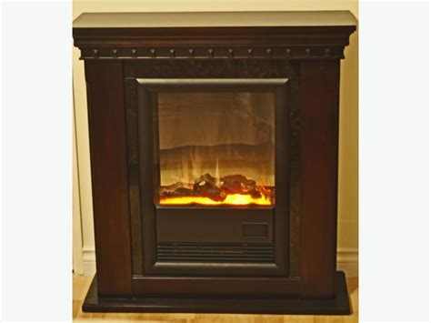 quot electralog quot remote controlled electric fireplace heater
