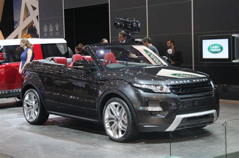 light green range rover range rover evoque convertible gets production green light