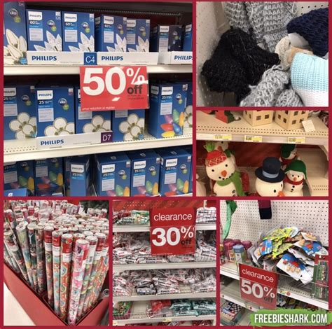 target walmart 50 off christmas clearance sale
