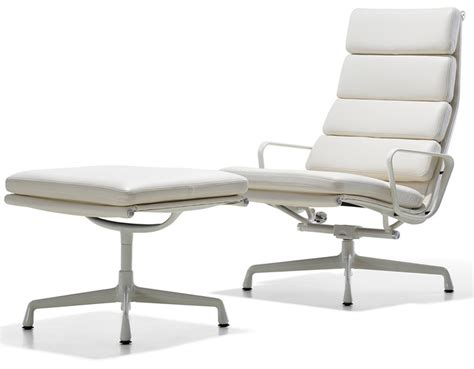 Eames Soft Pad Chair by Eames 174 Soft Pad Lounge Chair Ottoman Hivemodern