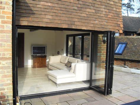 bi fold exterior patio doors bi fold doors the functional beautiful option for home