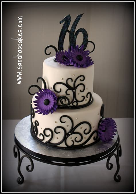 Sweet 16 Cakes by Pin Sweet 16 Birthday Cake Ideas Updated 16th Cake On