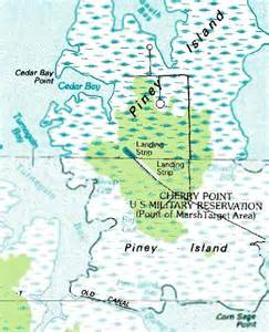 cherry point carolina map abandoned known airfields southeastern