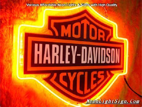 harley davidson neon light harley davidson motor cycle neon light sign harley
