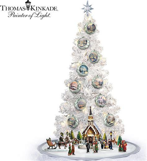 kinkade lighted kinkade lighted tabletop musical tree and
