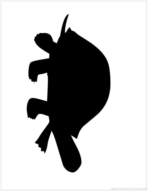 free clipart silhouette turtle silhouette clipartion