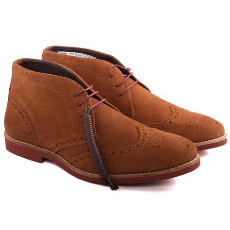 unze mens foxhill suede desert boots uk size 7 11 ebay