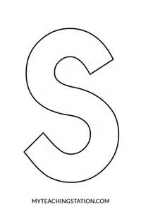 s template letter s craft snake myteachingstation