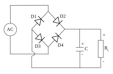 diode bridge rectifier circuit electrostudy