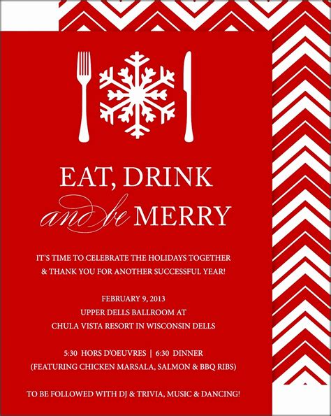 sample christmas party invitation wording choice image party