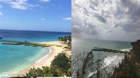 crash boat beach after maria video destruida playa crash boat de aguadilla
