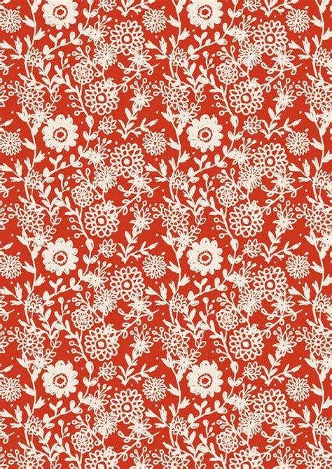 red pattern pinterest red white flower pattern floral fabrics pinterest