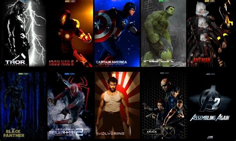 download film marvel heroes collage wallpaper and background 1400x840 id 340740