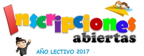 www inscripciones preescolar siclo 2016 2017 inscripciones ciclo electivo 2017 u e g p n 176 19