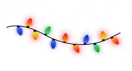half string of lights out bulbs batteries in a row activity