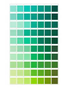 green color chart green color chart colors