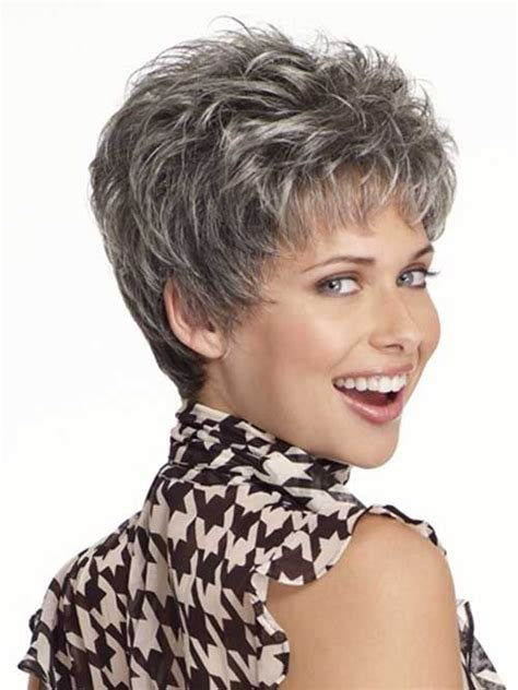 shag cuts for grey hair 17 best images about hair styles on pinterest shorts