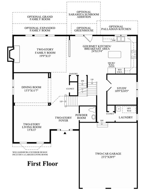 richmond floor plan morris chase estates the richmond home design