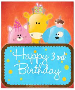 3 birthday card image gallery happy 3rd birthday boy