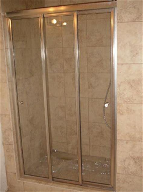 Tri Fold Shower Door Tri Fold Shower Doors Coram Optima 1200mm Tri Fold Shower Door Chrome Plain Glass Premier Tri