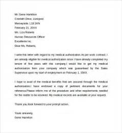 sample medical treatment authorization letter 9 free