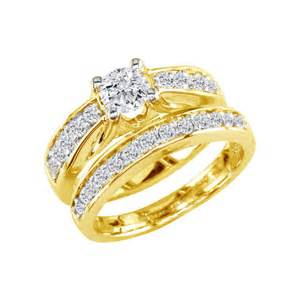 gold wedding set bridal sets gold bridal sets wedding rings